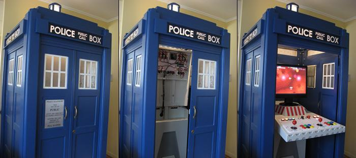 Fig 13.The complete TARDIS MAME console