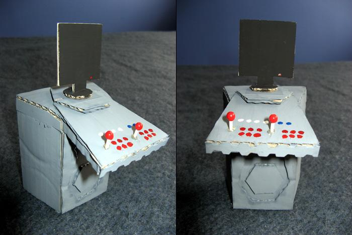 Fig 31. Highly detailed prototype scale model console